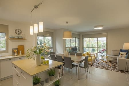 Kosher 3 Bedroom Garden Apartment - Ra'anana