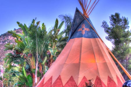 Mystic Canyon Tipi and More!