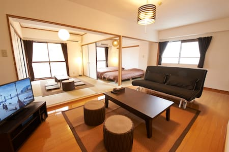 Near NAMBA, OSAKA 2 bedrooms!!