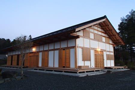 響きの宿(囲炉裏 BBQ など楽しめます) - Sukagawa-shi - Hus