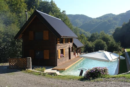 Charmant gîte de montagne (+1200m) - Rumah