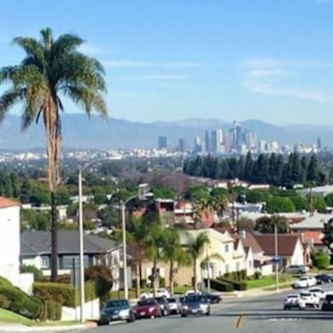 LA's hidden gem. A leisurely walk around the neighborhood uncovers some of the best views of the downtown skyline.