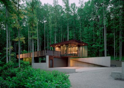 Tree House [modern] - Rabun Gap - Konukevi