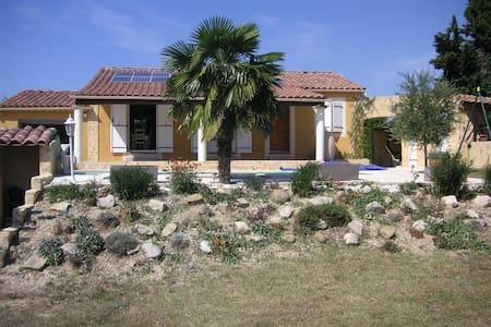Villa provençale avec piscine - Roaix