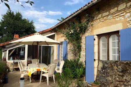 La Vieille Grange - Blanzay - Dům