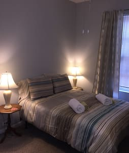 Spacious room #1  in great location