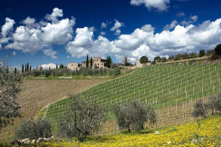 Authentic Chianti with private pool - Gaiole In Chianti