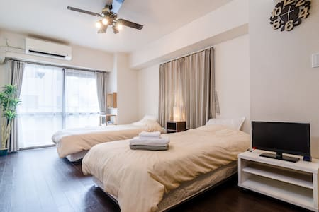 Charming&Bright Apt. w/ Pocket WiFi - Shinjuku-ku
