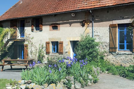 Bellevue lovely gîte with a view - Vernusse - Kulübe