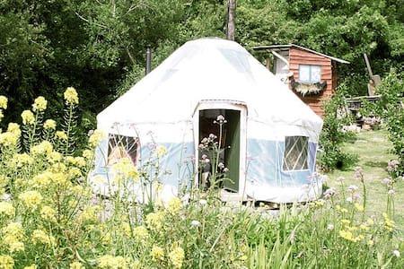 Inch Hideaway, Blue Yurt, Eco Camp - Whitegate - Jurte