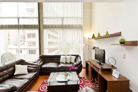 Piso nuevo corazón de Miraflores 3 - Miraflores District - Apartment