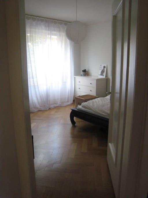 Das besagte Schlafzimmer