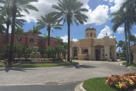 This is my vacation home, my family and I spend some great quality time in this resort style complex, it is only 20 minutes away from Tampa airport 15 minutes away from the famous Clearwater Beach, nearby shopping center, Whole Foods and many other grocery stores and parks.