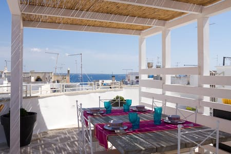 Charming Attic with Terrace - Gallipoli