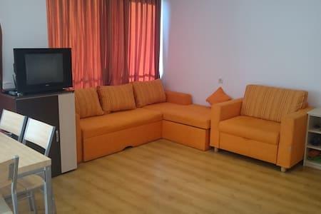 Big comfortable studio near sea - Primorsko - Apartment