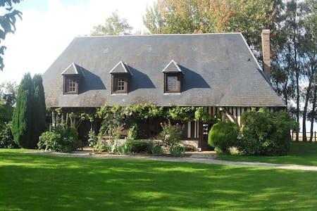 Maison normande au charme bucolique - Berthouville - Hus