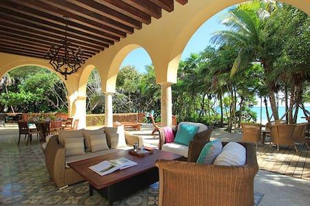 Chekul -Luxury Beach Hacienda - Tulum  - Villa