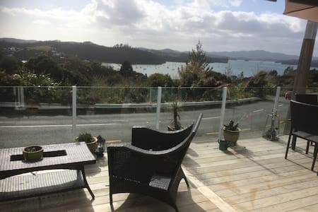 WATER VIEWS AND FISHING IN OPUA
