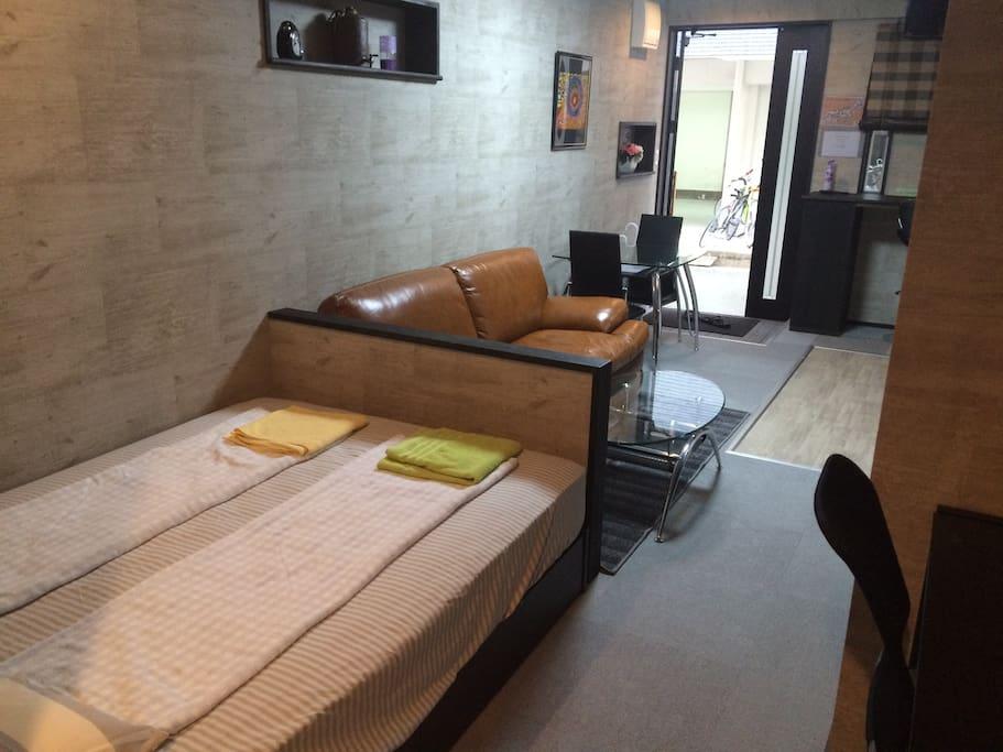 Namba couples apartment at Namba