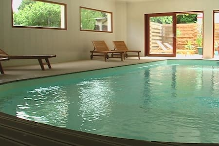 gite 5/7 persons with indoor pool - Wohnung