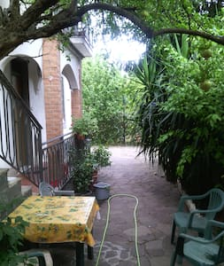Villa vith gardens