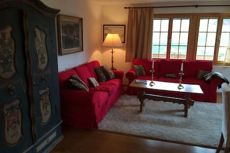 Beautiful 3 bedroom apt.in Saanen - Appartamento