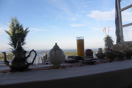Suite calme avec vue exceptionelle - Sidi Kaouki - Oda + Kahvaltı