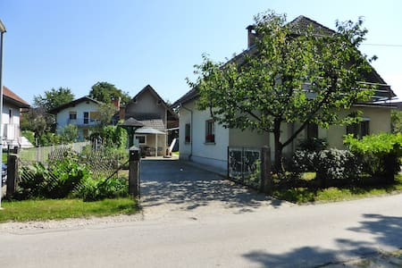 Scout cottage in village near city - Trboje - Haus