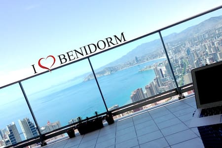 """Apartments with stunning panoramic views of the Benidorm.  Local shops and supermarkets all within 4 mins walking, the apartment is fully furnished and loaded.  English, Scandinavian, Spanish and Russian Television, 42"""" TV OLED, DVD, Bluetooth Surround Music, Extremely fast fiber Internet (100Mb) WiFi, all inclusive.  Free Safe parking in the building of the apartment. Also we do a Airport Transfer on request! Place is suitable for 2-5 people."""