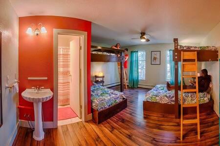 Red Male Dorm Room @Solarium Hostel (2 of 4) - Dorm
