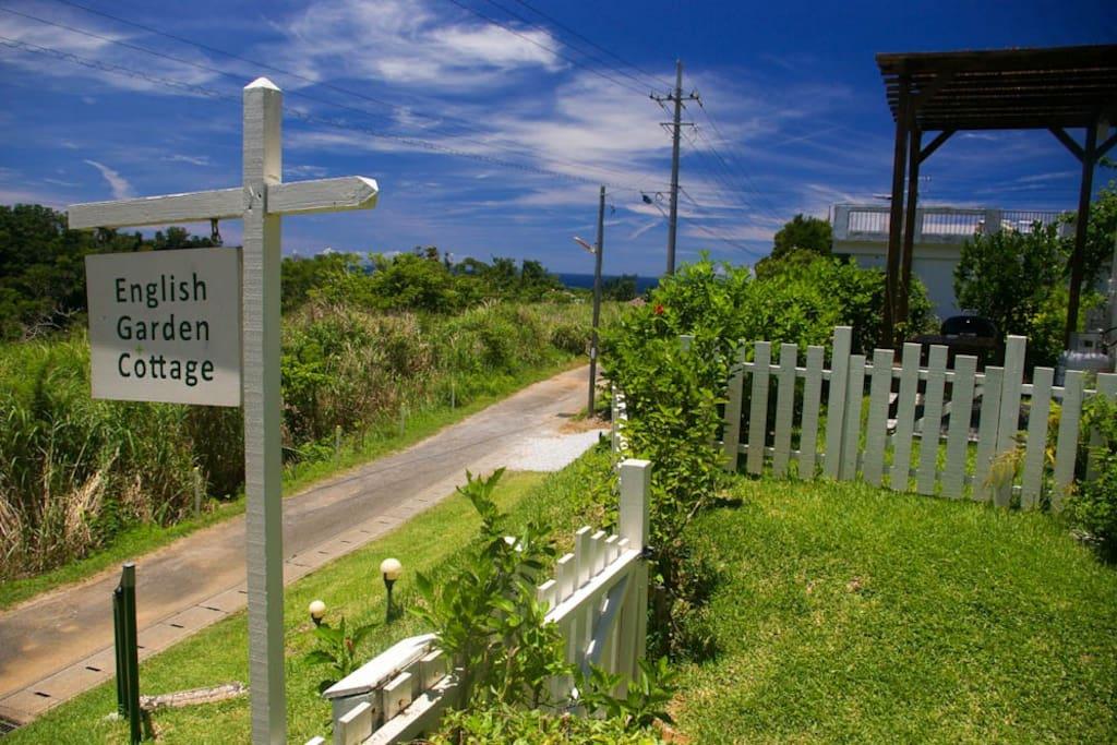 Hills Adda Instant Garden : Garden cottage hills ocean view houses for rent in