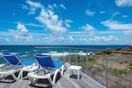 Villa BLEU MATISSE: vue sur l'océan - 獨棟