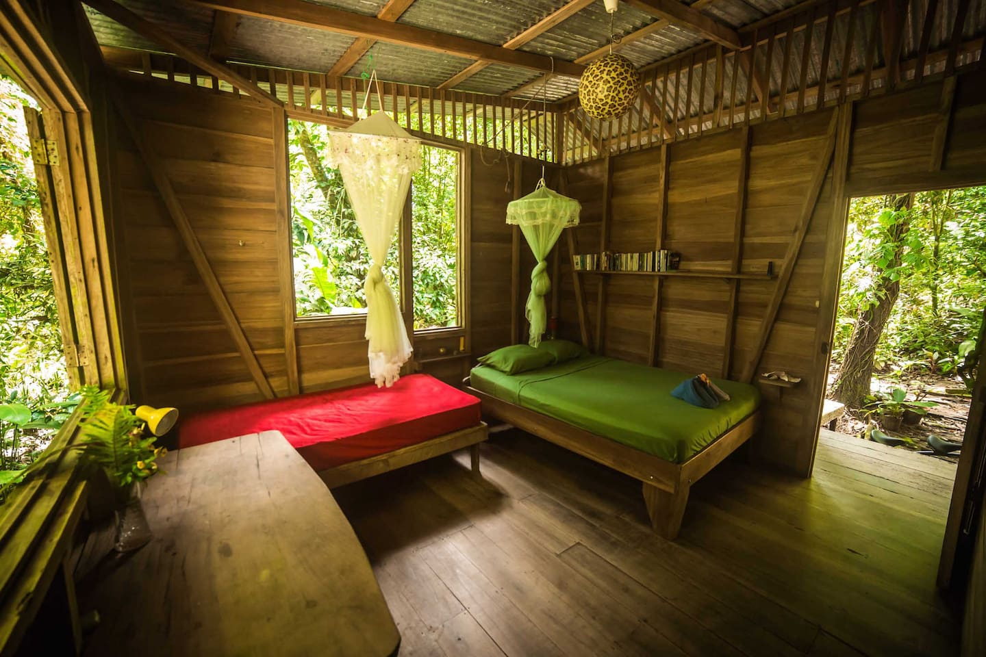Simplicity at it's best! Your charming jungle cabin.