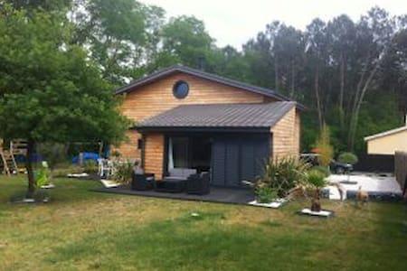 Jolie Maison bois contemporaine
