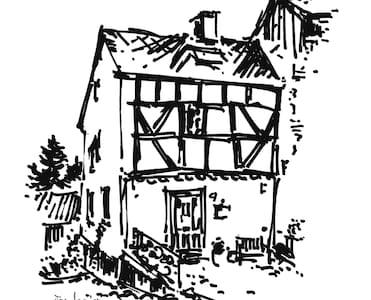 Beautiful tiny house in town center - Manderscheid