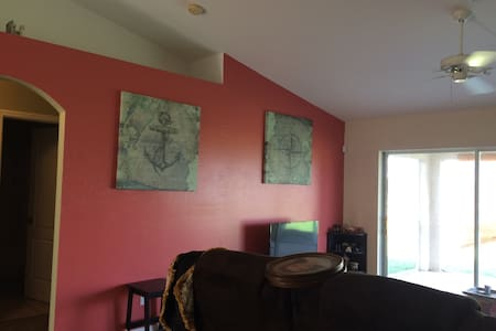Clean and quiet room available. - Cape Coral - Maison