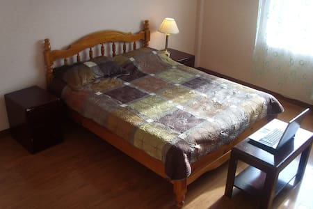 Huge double room with king size bed