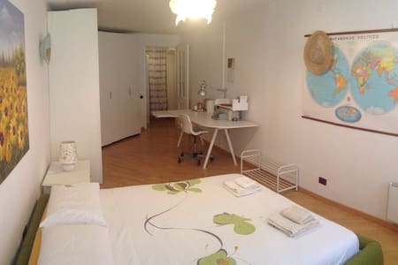Bedroom and Bathroom in City Center