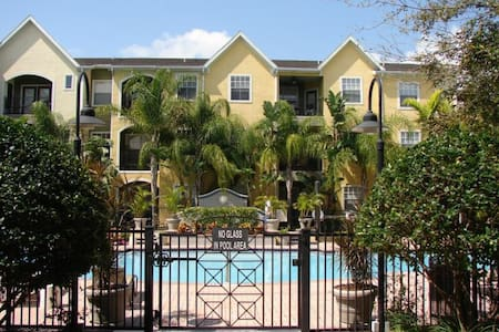 Furnished 1 bedroom condo pool,spa