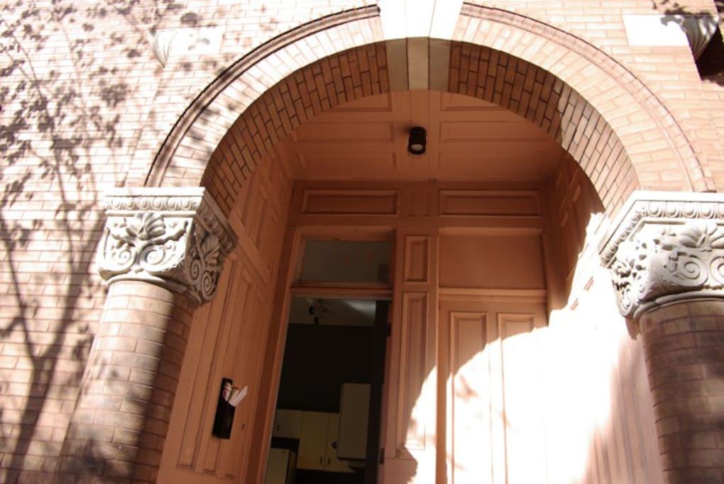 Classic arching doorway