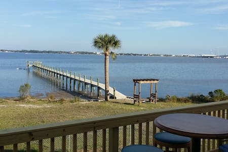 Big Water Views. Waterfront Home - Panama City Beach - House