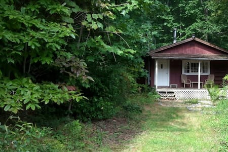 CABIN IN THE WOODS with porch