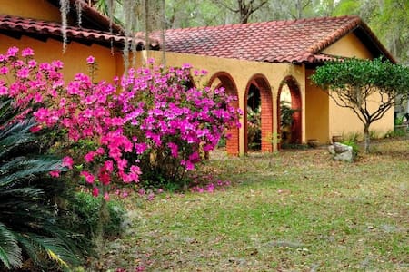 Beautiful Ocala Horse Country Home - Ocala - Huis