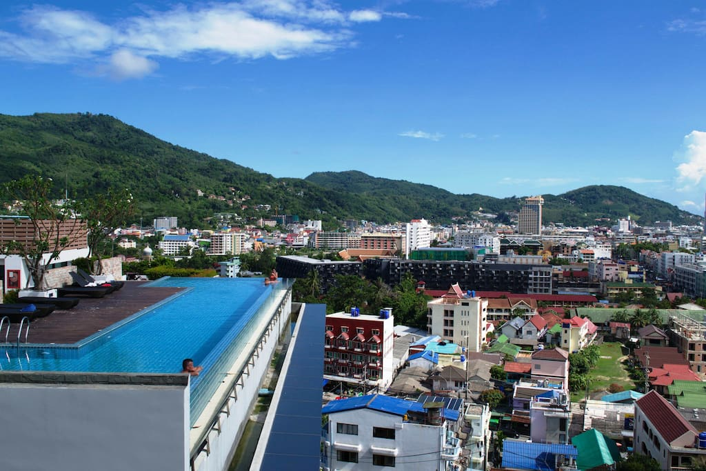 The unity patong private apartment apartments for rent for Patong apartments