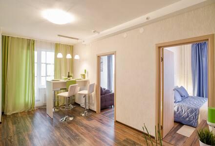 2 bedrooms Apartment in Prima Apart-Hotel - gorod Sankt-Peterburg - Apartment