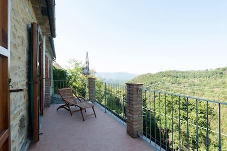 Splendida casa con vista panoramica