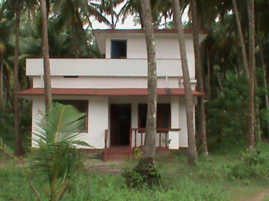 The River House - set in a Coconut Grove - Malabar Cove - Kerala
