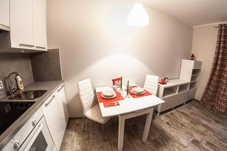 "Modern Apartment ""Red Energy"" - Wohnung"