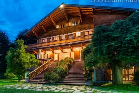 Villa Meridiana Luxury Chalet - Concenedo