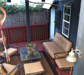 Large SF BR & Deck,Private Entrance